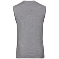 SUW TOP Crew neck Singlet NATURAL 100% MERINO WARM, grey melange - black, large