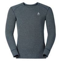 Shirt l/s crew neck ACTIVE ORIGINALS Warm, grey melange, large