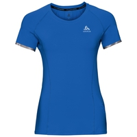 BL TOP Shirt met ronde hals s/s ZEROWEIGHT Ceramicool, energy blue, large