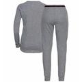Completo Base Layer ACTIVE WARM da donna, grey melange, large