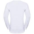 Shirt l/s v-neck ORIGINALS WARM, white, large
