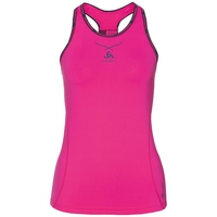 Ceramicool pro baselayer singlet women, pink glo - peacoat, large