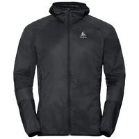 Men's WISP WINDPROOF Jacket, black, large