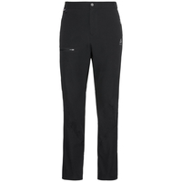 Men's SAIKAI CERAMICOOL Pants, black - odlo steel grey, large