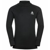 ACTIVE WARM ECO KIDS Long-Sleeve Turtleneck Baselayer Top, black, large