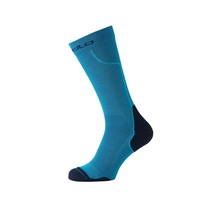 Chaussettes hautes CERAMIWARM, blue jewel - diving navy, large