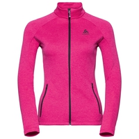Women's PROITA Full-Zip Midlayer Top, beetroot purple, large