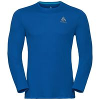 BL TOP Crew neck l/s SLIQ, energy blue, large