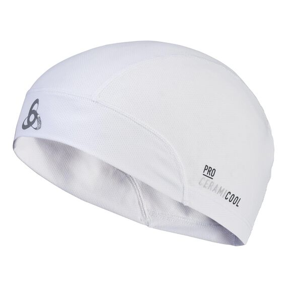 Beanie CERAMICOOL UVP, white, large