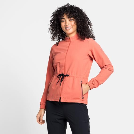 Women's HALDEN Jacket, burnt sienna, large