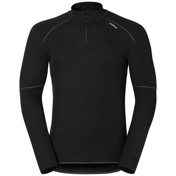 SUW Top Turtle neck 1/2 zip l/s ACTIVE ORIGINALS X-Warm, black, large