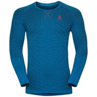 BL Top Crew neck l/s BLACKCOMB Light, energy blue - blue jewel, large