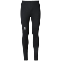 SLIQ running Tights men, black, large