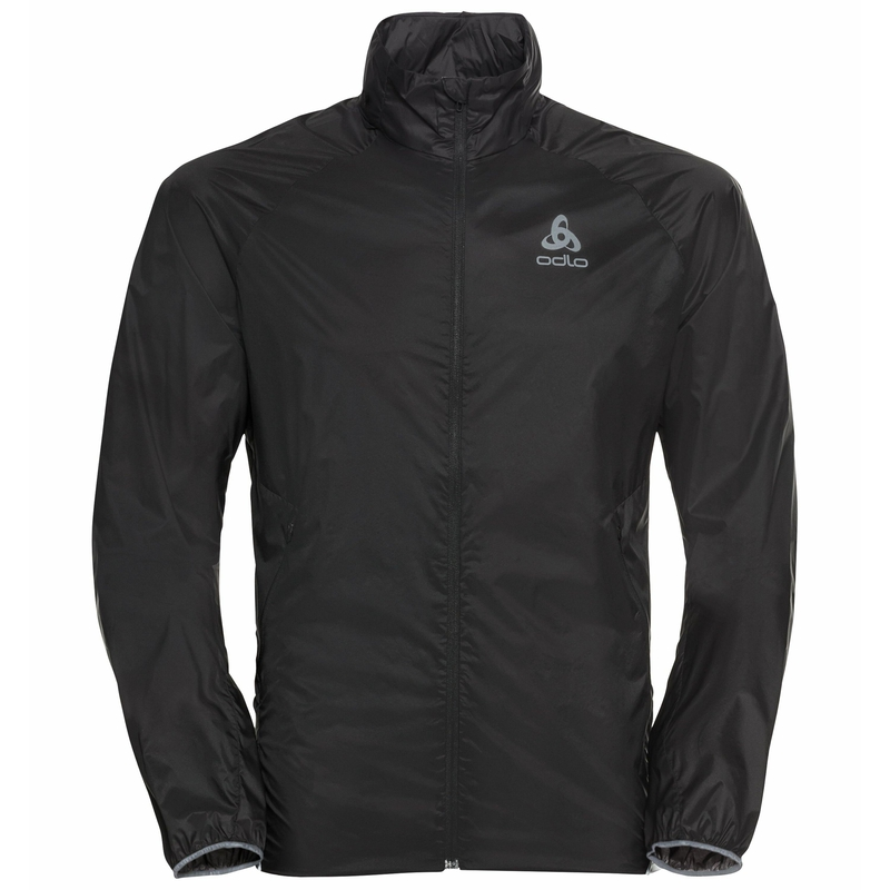 Men's ZEROWEIGHT DUAL DRY WATER-RESISTANT Jacket, black, large