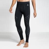 Men's NATURAL + KINSHIP WARM Base Layer Pants, black melange, large