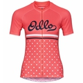 ELEMENT PRINT-fietsjersey met korte mouwen voor dames, dubarry - retro, large