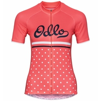 Maglia da ciclismo a manica corta ELEMENT PRINT da donna, dubarry - retro, large
