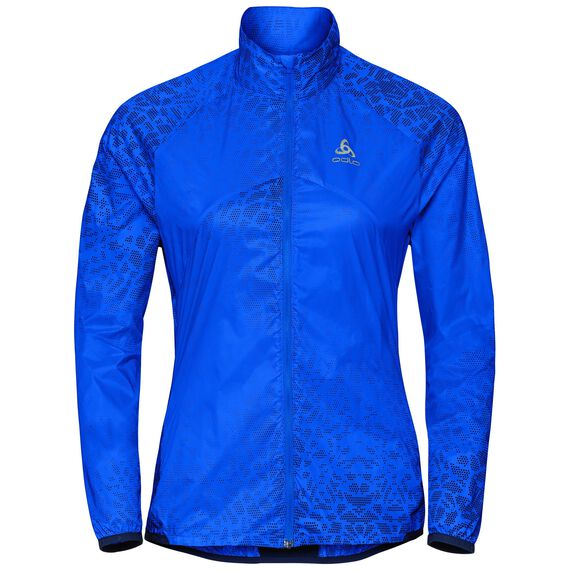 Jacket OMNIUS, energy blue - AOP SS18, large
