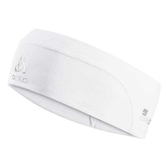 Headband CERAMICOOL, white, large