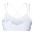 SOFT Seamless sports bra, white, large