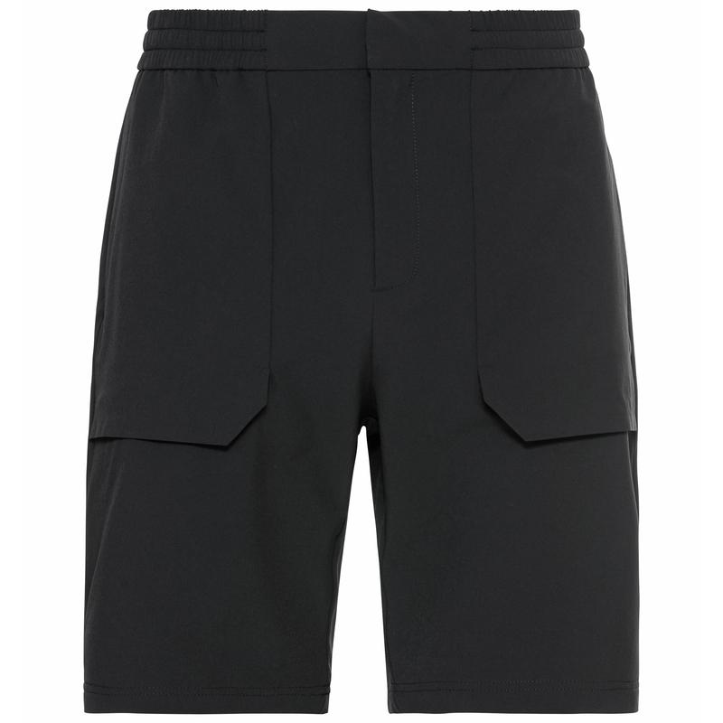 Herren HALDEN Shorts, black, large