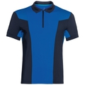 Polo s/s SAIKAI CERAMICOOL, diving navy - energy blue, large