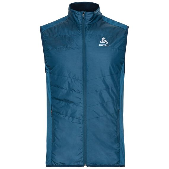Vest IRBIS HYBRID Seamless X-Warm, poseidon - blue jewel, large