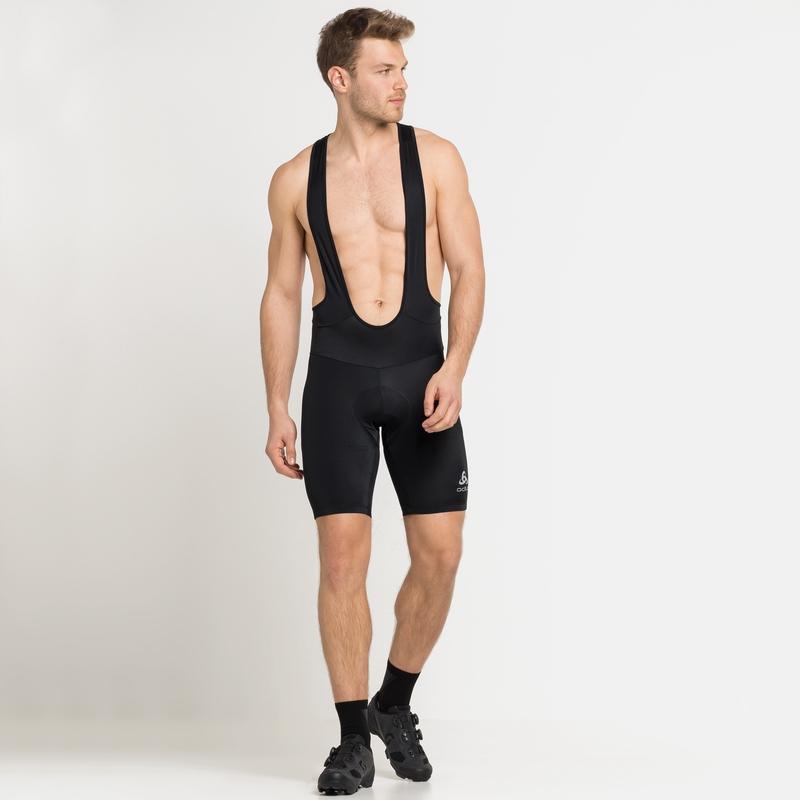 Men's ELEMENT Cycling Bib Shorts, black, large