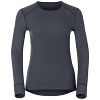 Women's ACTIVE WARM Long-Sleeve Baselayer Top, india ink, large