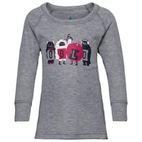 Sous-vêtement technique T-shirt manches longues ACTIVE WARM TREND KIDS (SMALL), grey melange, large