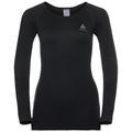 BL TOP Crew neck l/s PERFORMANCE Essentials WARM, black - odlo graphite grey, large