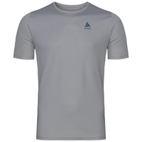 T-shirt s/s crew neck GEORGE CITY, odlo concrete grey, large