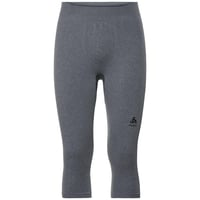 PERFORMANCE WARM-basislaagbroek met 3/4-lengte voor heren, grey melange - black, large