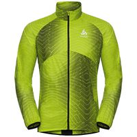 Jacket OMNIUS Light, acid lime - AOP SS18, large