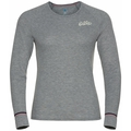 Women's ACTIVE WARM ORIGINALS ECO Long-Sleeve Baselayer Top, grey melange, large
