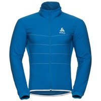 Men's ZEROWEIGHT S-THERMIC Cycling Jacket, directoire blue, large