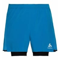 Men's ZEROWEIGHT CERAMICOOL PRO 2-in-1 Shorts, blue aster - black, large