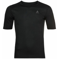 ACTIVE WARM ECO-basislaag-T-shirt voor heren, black, large