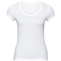 Damen ACTIVE F-DRY LIGHT Funktionsunterwäsche T-Shirt, white, large