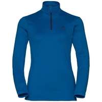 Midlayer 1/2 zip STEEZE, lapis blue, large