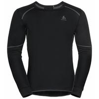 Men's ACTIVE X-WARM ECO long-sleeve Baselayer Top, black, large