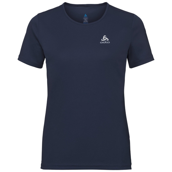 BL TOP Crew neck s/s CARDADA, diving navy, large