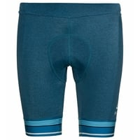 Men's ZEROWEIGHT Cycling Shorts, mykonos blue melange, large
