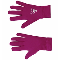 Gloves STRETCHFLEECE, violet pink, large