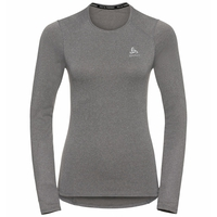 Women's ACTIVE THERMIC Long-Sleeve Baselayer, grey melange, large
