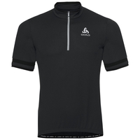 BREEZE cycling jersey men, black, large