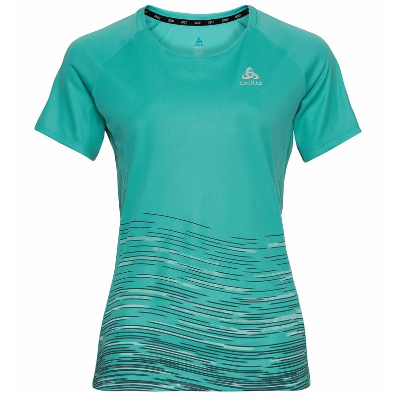 T-shirt running ESSENTIAL PRINT., jaded, large