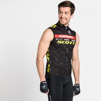 Giacca smanicata Scott-Sram Racing Fan da uomo, SCOTT SRAM 2020, large