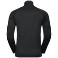 Men's PILLON 1/2 Zip Midlayer, black, large