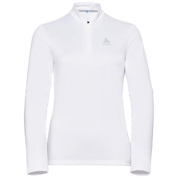Midlayer 1/2 zip HARBIN, white, large